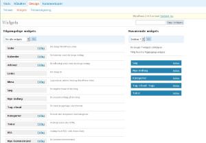 Fungsi Widget dalam WordPress